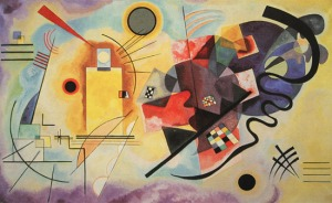 "Kandinsky, ""Yellow, Red, Blue"", 1925"