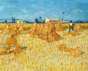 """Harvest in Provence"", Van Gogh"