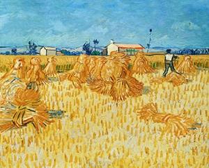 """Harvest in Provence"", Van Gogh"