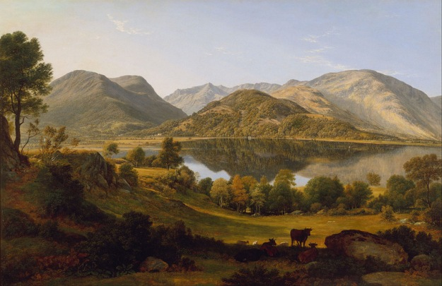 "John Glover, ""Ullswater, Early Morning"", 19th Century, Art Gallery of New South Wales, Sydney, Australia"