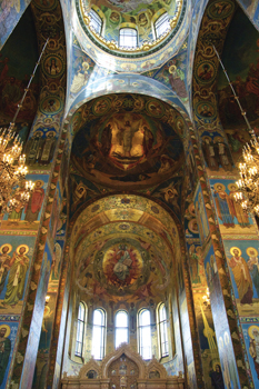 Church on the Spilt Blood, St. Petersburg, Russia