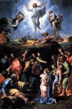 """""""Transfiguration"""" by Raphael, 1518 - 1520.  Vatican City, Direzione generale dei musei."""