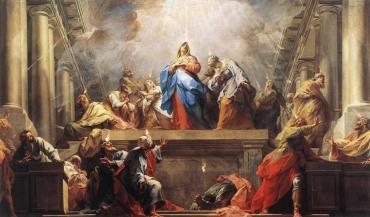 Jean II Restout : Pentecôte