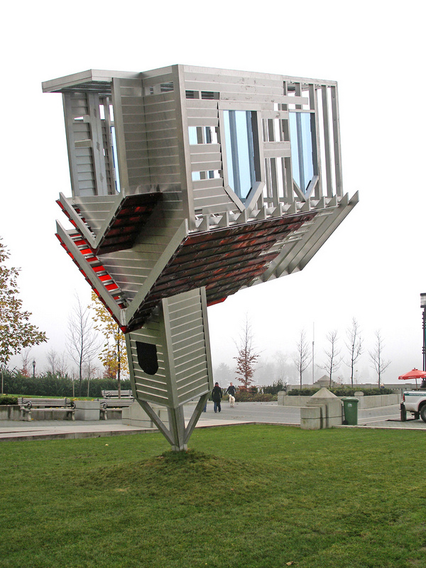 """Device to Root Out Evil"", Dennis Oppenheim, 1938 - 2011, Vancouver, Canada."
